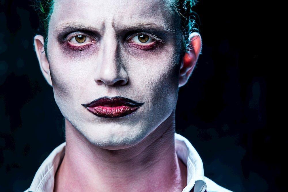 Joker make-up per Halloween