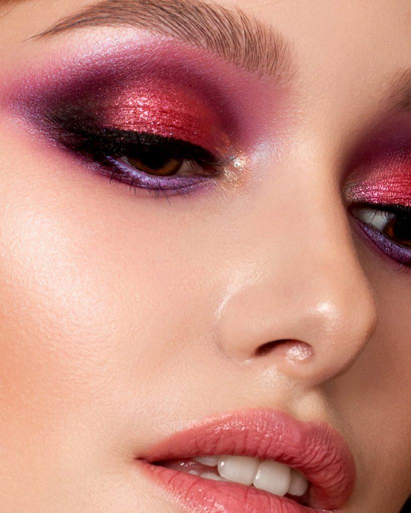 Trend di make-up Autunno Inverno 2019/2020- ombretto glitter - trucco gioiello