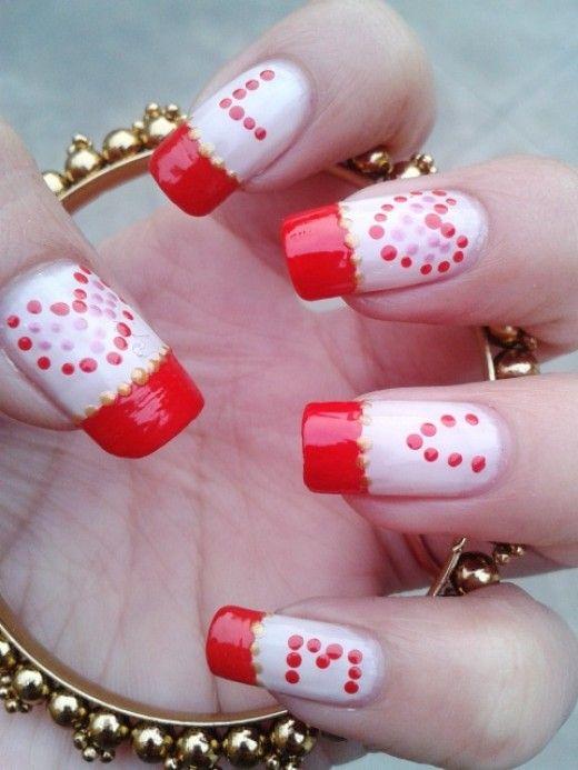 Unghie romantiche per San Valentino  - idee nail art